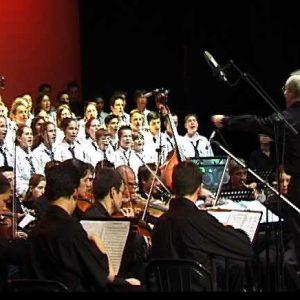 Partitions de chants + orchestre
